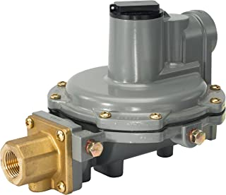 "Emerson-Fisher LP-Gas Equipment R632A-JFF Integral 2-Stage Regulator, 9-13"" W.C Spring, POL"" x 3/4"" NPT"