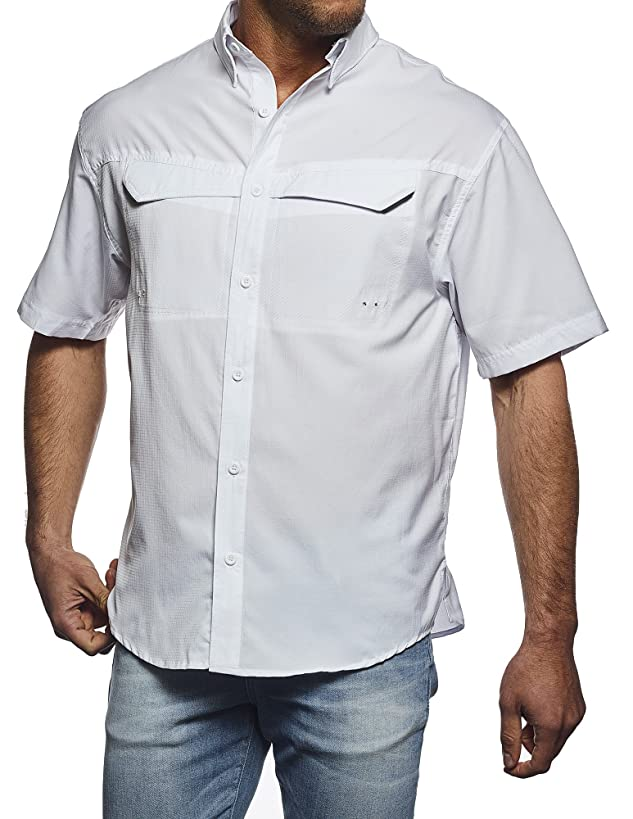 Pro Celebrity Men's Pro Fishing Outdoor Button-Down Shirt