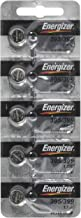 Energizer 395 or 399 Button Silver Oxide SR927SW Cell Watch Battery Pack of 5 Batteries