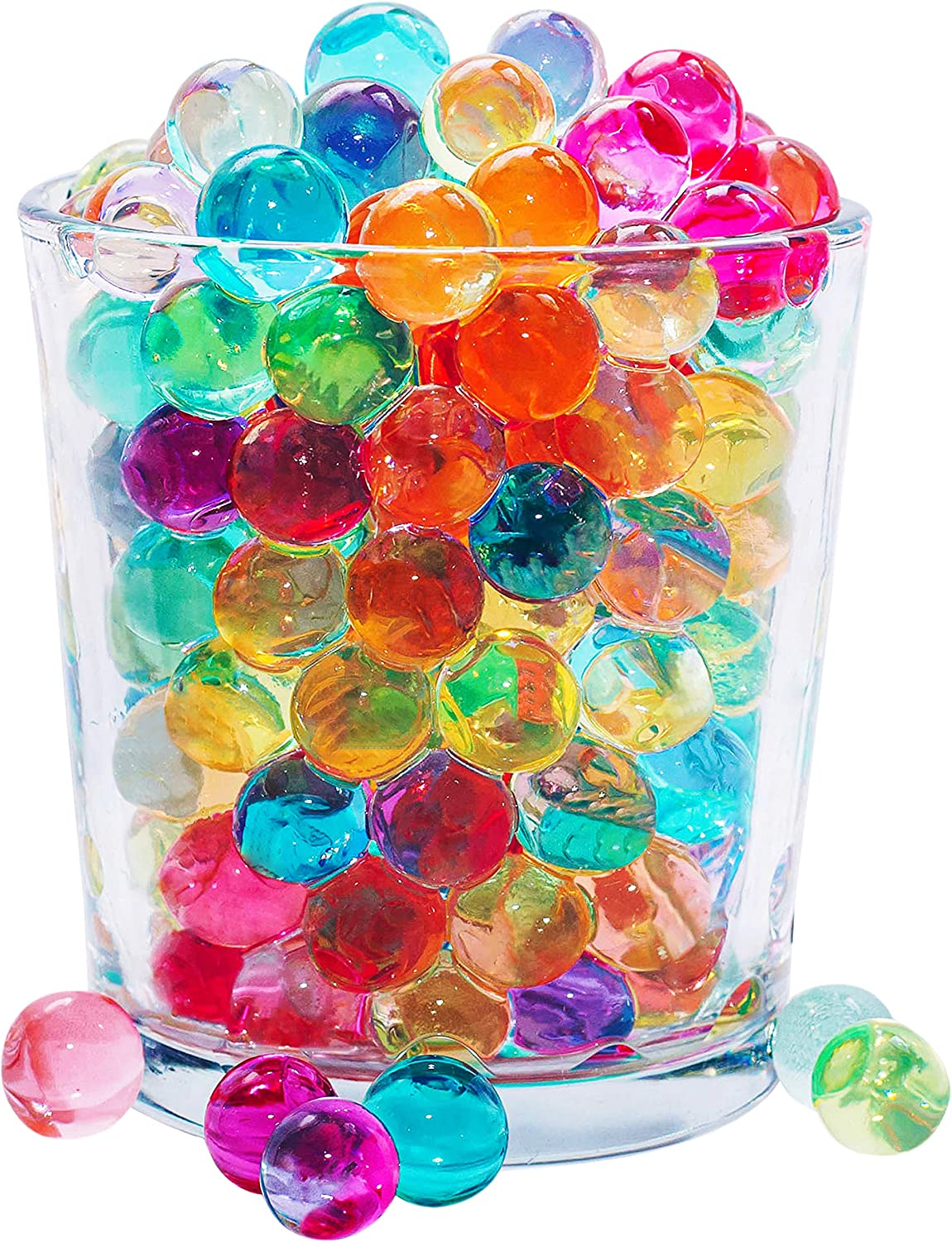 20 Washington Mall Ranking integrated 1st place 000 Rainbow Water Beads for Kids Table Toxic - Toy Non