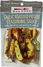 Red Fork Seasoning Sauce, Garlic Roasted Potato, 4 Ounce (Pack of 8)