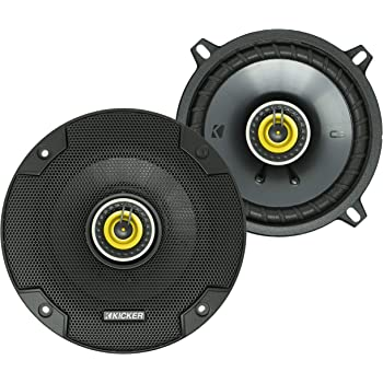 Clarion SRG1323R 5-1//4-Inch 2-Way Coaxial Speaker System Set of 2