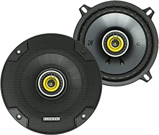 KICKER CS Series CSC5 5.25-Inch Car Audio Speaker with Woofers, Yellow (2 Pack) photo