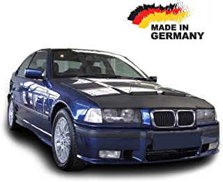 Hood Bra for BMW 3 E36 Bonnet Car Bra Front End Cover Nose Mask Stoneguard Protector TUNING