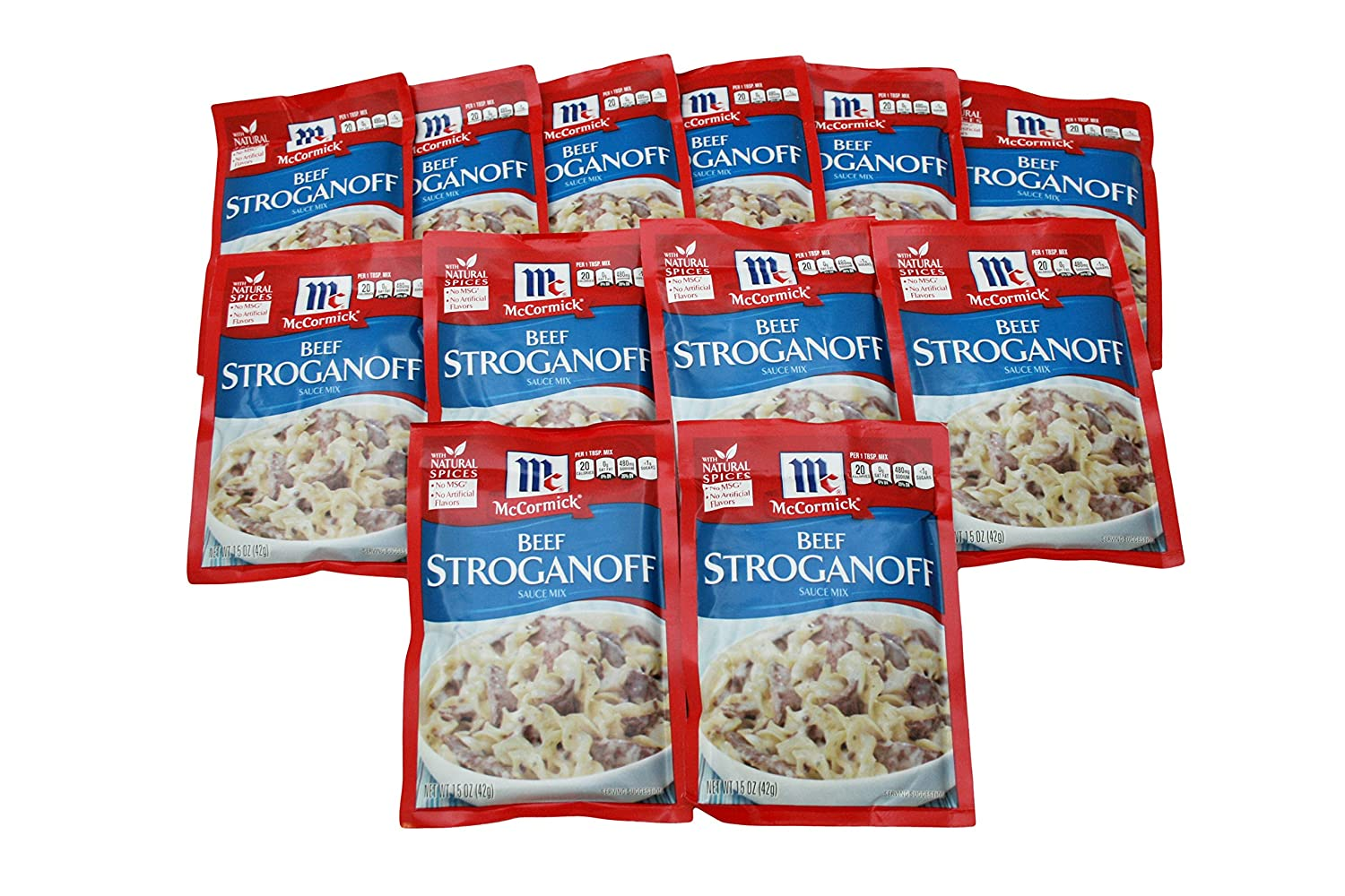 McCormick Beef Some reservation OFFicial shop Stroganoff Seasoning Sauce 1.5oz Mix Packet Pa