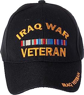 Artisan Owl US Military Iraq War Veteran Ribbon Embroidered Adjustable Baseball Cap