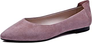 BLUMEN Women Flat Shoes Slip On Extremely Soft Camille Pink
