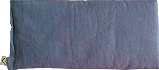 Yoga Unscented Eye Pillow - Flax Seed - Meditation Yoga Massage - Soft Cotton all Natural 4 x 8.5 - purple lilac