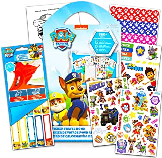 Paw Patrol Sticker Activity Book Bundle ~ Over 350 Paw Patrol Stickers Featuring Chase, Marshall, Skye, and More with Paw ...