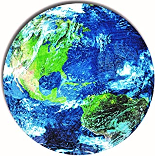 RayDi Throw Blanket Planet Earth - Americas | Spectacular Image of Earth | This Soft Cozy and Comfy Blanket is Perfect for Bedroom, Couch or Travel