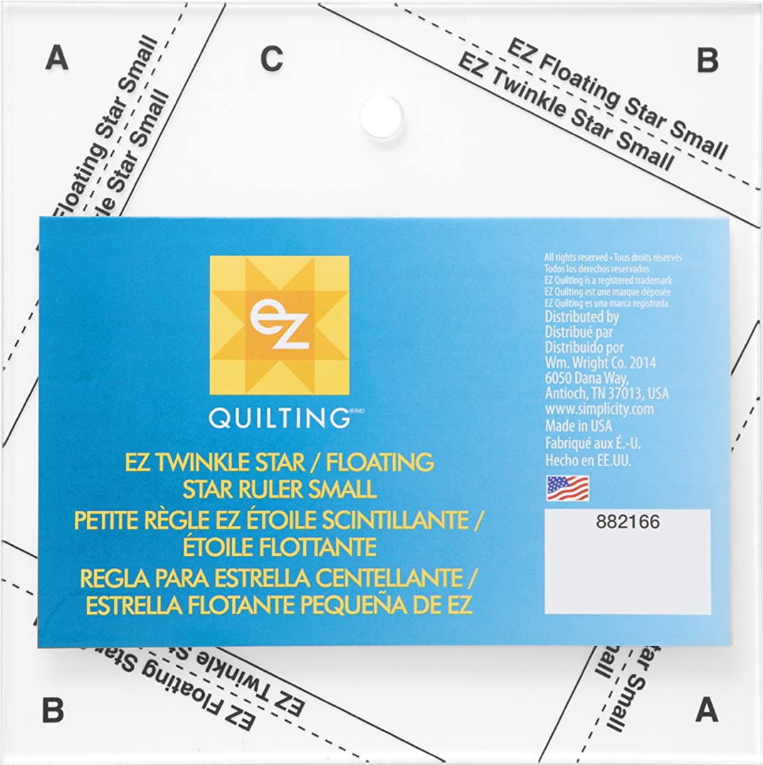 EZ Twinkle Star/Floating Star Ruler Small-