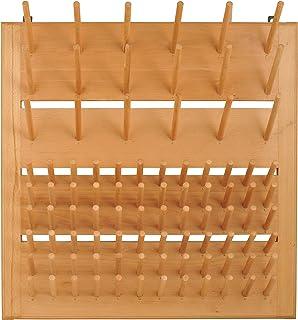 مضرب رسم خشبي من Eisco CH0001C، قابل للجدار - 90 دبوس (72 - 3 دبابيس 18 - 5 بوصات)