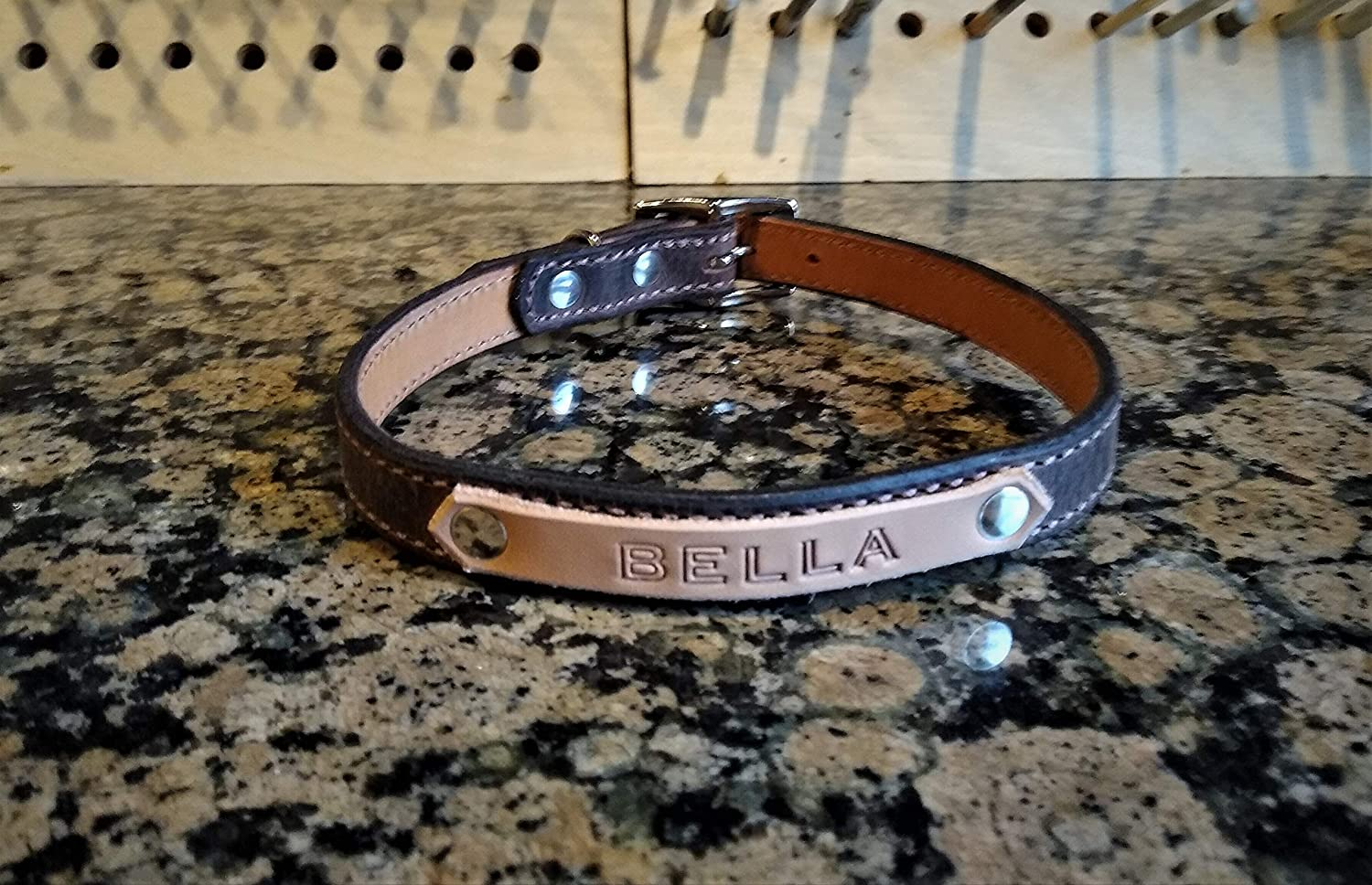 Personalized Leather Wholesale Dog Small Collar Great interest