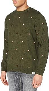 Scotch & Soda Men's Sweatshirt Mit Rundhalsausschnitt Und Print
