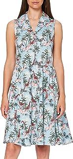 Joe Browns Women's Floral Skirt Dress Casual, Blue