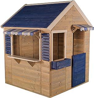 Wendi Toys M17 Maritime House | Casita Infantil de Color Azul para Actividades y Juegos al