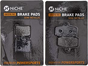NICHE Brake Pad Set For KTM 85 SX 200 XCW TC 85 17-14 19-16 Repalces 47013090300 47013030000 Complete Semi-Metallic