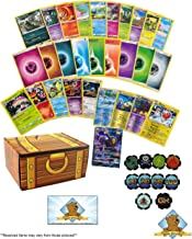 200 Pokemon Cards Beginner Essentials Lot - 100 Pokemon Cards - 100 Pokemon Energy Cards - Custom Status Effects Including Fire Poison Sleep GX Counter - Learn To Play and More! Golden Groundhog Treas
