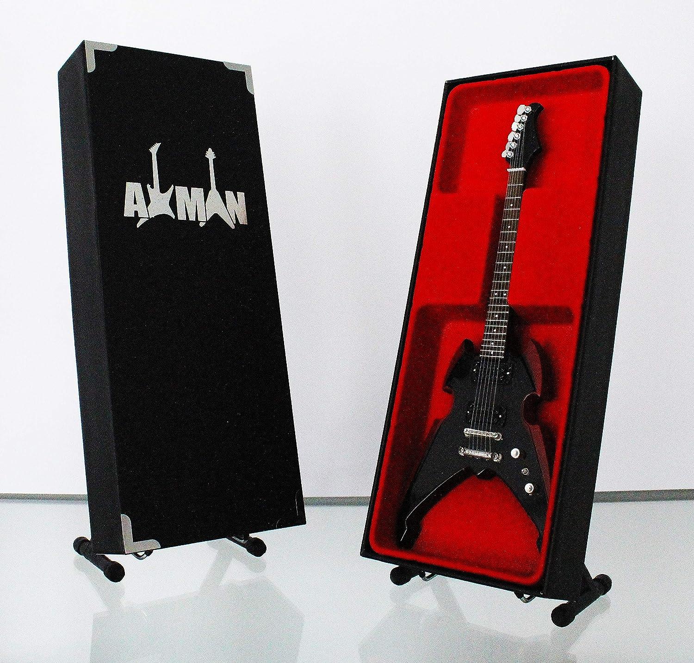 Paul Stanley (Kiss): Silvertone Apocalypse Pro - Réplica de guitarra en miniatura