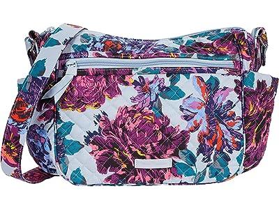 Vera Bradley On the Go Crossbody (Neon Blooms) Cross Body Handbags