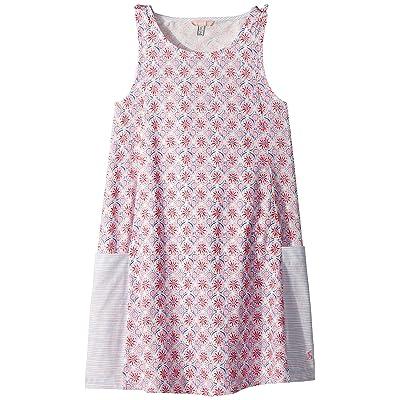 Joules Kids Printed Sleeveless Jersey Dress (Toddler/Little Kids/Big Kids) (Cream Summer Mosaic) Girl