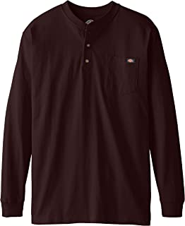 Dickies Men's Big-Tall Long-Sleeve Heavyweight Henley