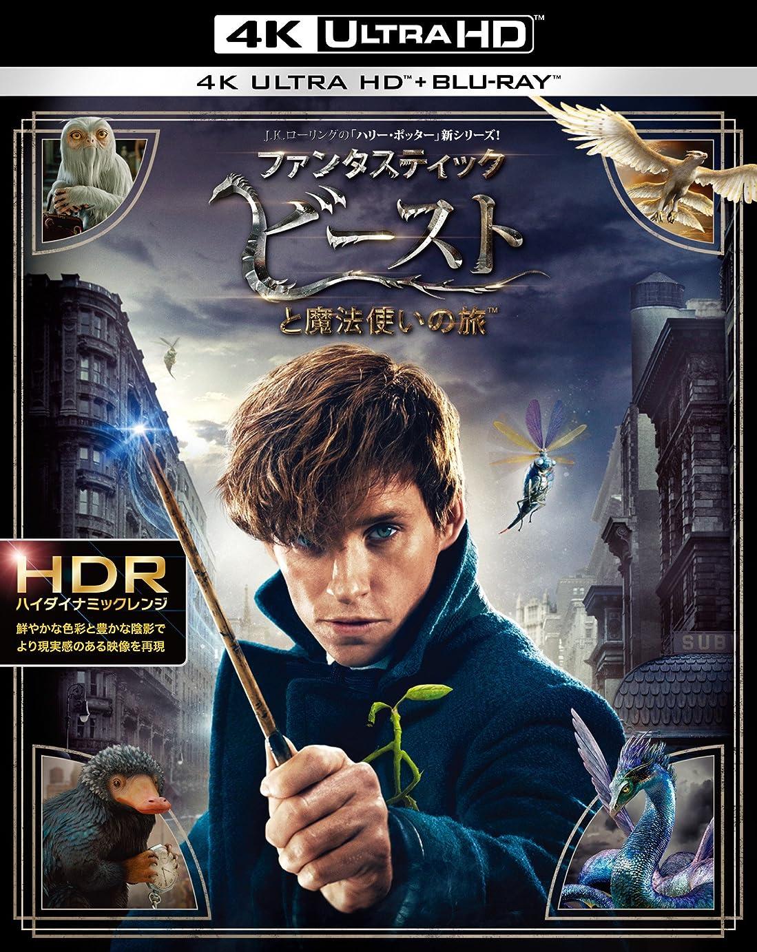 あえてアーティキュレーション戦艦ファンタスティック?ビーストと魔法使いの旅  4K ULTRA HD&2D ブルーレイセット (2枚組) [Blu-ray]