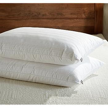 New Dreamworld Luxury Duck Feather /& Down Pillow 100/% Cotton Cover BNIB