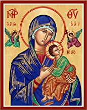 Monastery Icons Our Lady of Perpetual Help Mounted Plaque Icon Reproduction 11