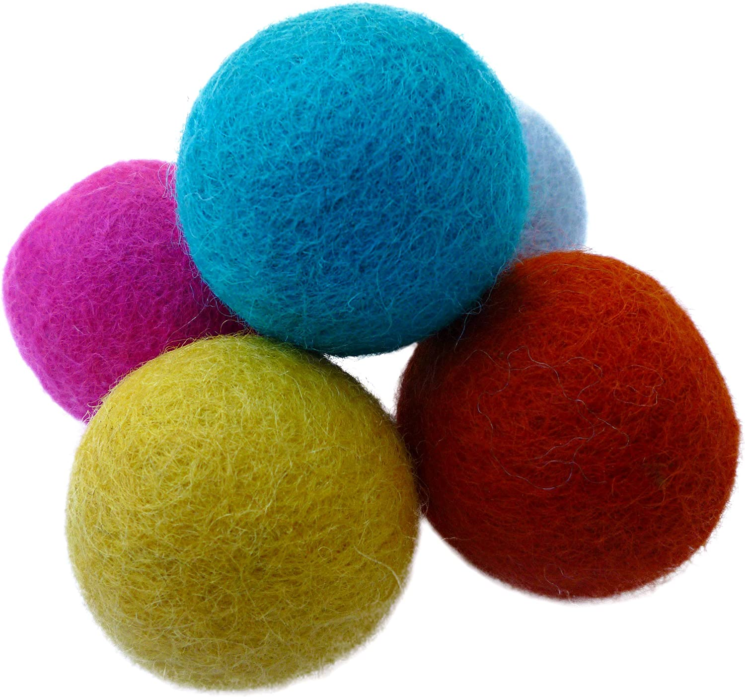 Fixed price for sale lowest price Earthtone Solutions Wool Felt Ball Toys Fu Cats and for Kittens