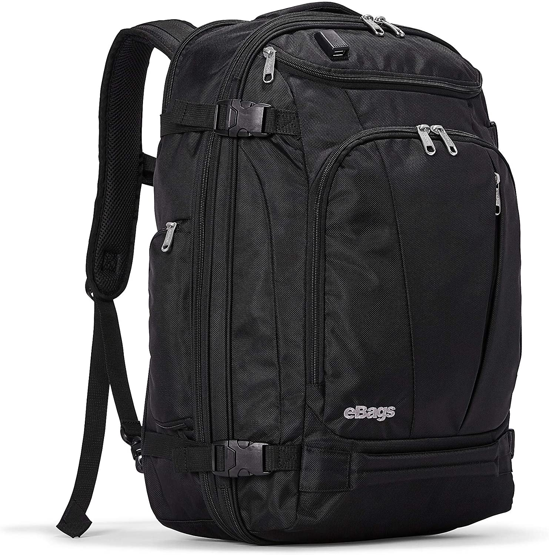 eBags 新作 未使用品 大人気 Mother Lode USB Travel w Backpack Black