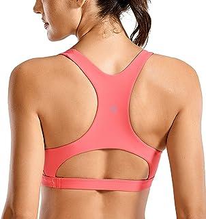 comprar comparacion CRZ YOGA Mujer Bikini Natacion Parte de Arriba Bikini con Copas Extraíbles Cuello en V Bañador