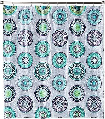 SKL Home by Saturday Knight Ltd. Filigree Medallion Vinyl Shower Curtain, Purple