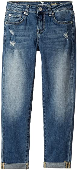 7 For All Mankind Kids - Denim Jeans in Windsor Pink Tint (Big Kids)