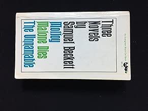 Three Novels By Samuel Beckett (An Evergreen Black Cat Book)