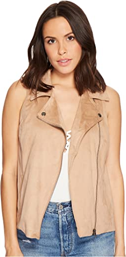 Jack by BB Dakota - Elion Faux Suede Moto Vest