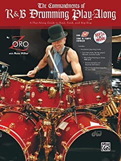 The Commandments of R&B Drumming Play-Along: A Play-Along Guide to Soul, Funk, and Hip-Hop, Book & MP3 CD