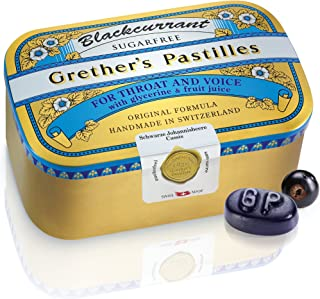 "Grether""s Pastilles Blackcurrant sugarfree, 440 g Pastillen"