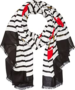 Kate Spade New York - Ma Cherie Oblong Scarf