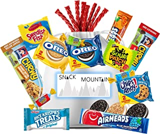 Snack Mountain Care Package Gift Bag - Appreciation, Thank You, Birthday, Graduation,Military, Camp, Employees, Cookies, C...