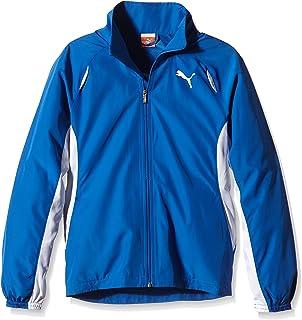 PUMA 女童夹克 TB 跑步 Warm up jacket W