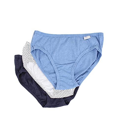 Dot Bikini Blue Denim 3 Sea Deep Heather Jockey Pack Elance® Blue Deep Heather Blue T54qzz
