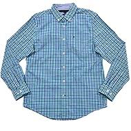 Tommy Hilfiger Mens Custom Fit Tattersall Buttondown Shirt