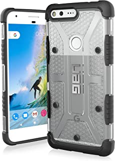 UAG Google Pixel XL [5.5-inch screen] Plasma Feather-Light Rugged [Ice] Military Drop Tested Phone Case