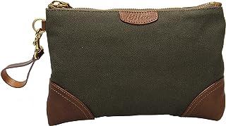 Iblue Womens Canvas Wristlet Bag Clutch Wallet Purse Handbag Coin Holder A805