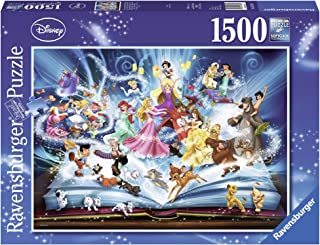 Ravensburger Disney Magical Storybook 1500pc,Adult Puzzles