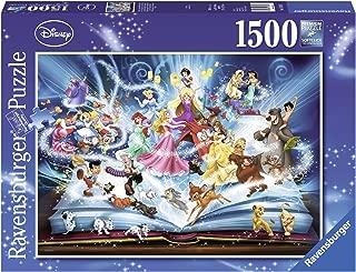 Ravensburger Disneys Magical Book of Fairytales Jigsaw Puzzle (1500 Piece)