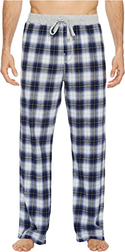 True Grit - Softest Vintage Shadow Plaid Flannel Pants