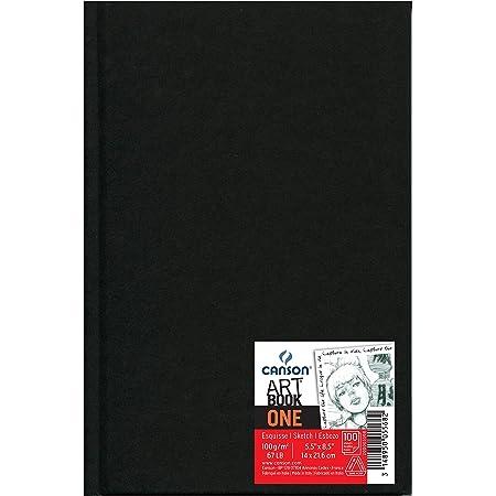 Cuad 14x21,6 cm, 98 Hojas, Canson Sketch One, Grano Fino 100g