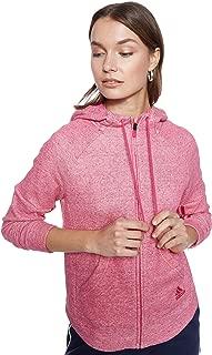 Adidas Women's Sport 2 Street Full Zip Hoodie Jacket